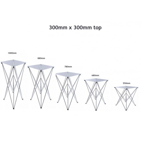 300 x 300mm Exhibition Table