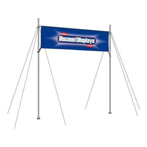 Overhead Banner Display Frames