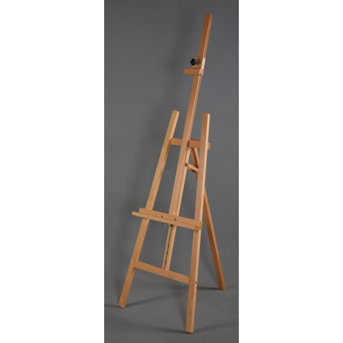 Folding retail easel