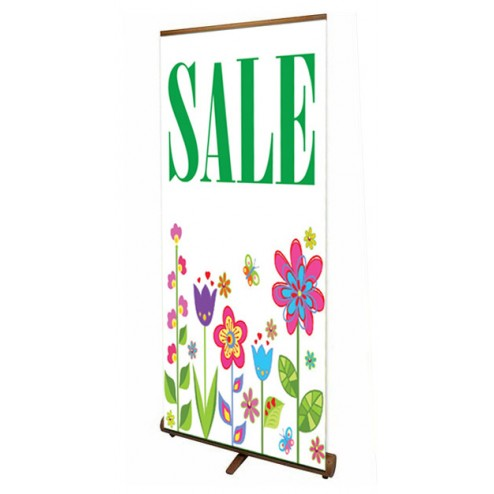 Bamboo Roller Banner Stand