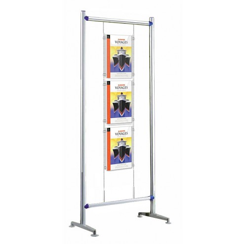 Free standing A3 cable display