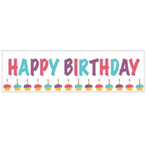 Banner - Happy Birthday - 364