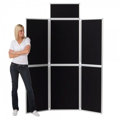 6 Panel Aluminium Frame Display Board