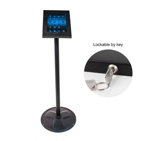 Black stand - locked with key