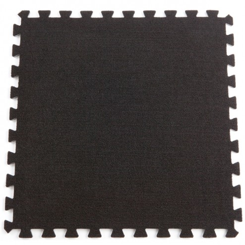 Black exhibition carpet flooring