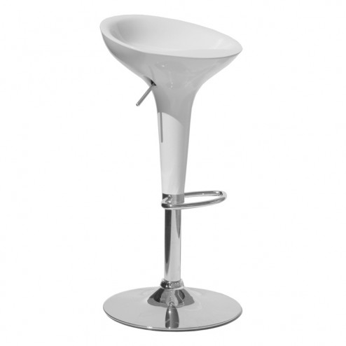 Bombo Bar Stool - White
