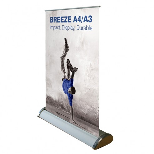 Breeze Desktop Banner Stand