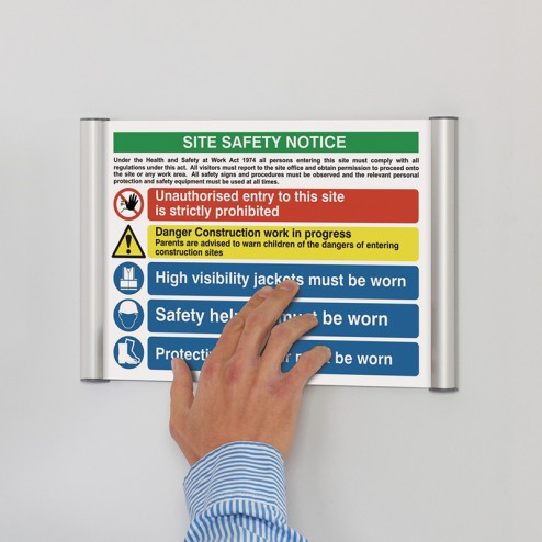 Flexible Office Signage System
