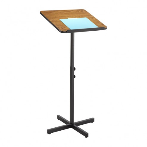 Medium oak effect budget lectern