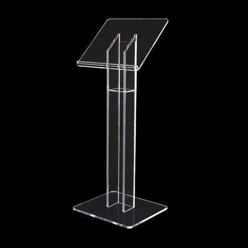 Budget Perspex Acrylic Lectern