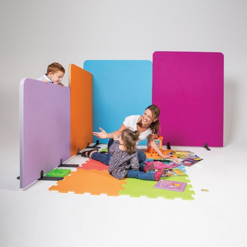Vibrant Room Dividers