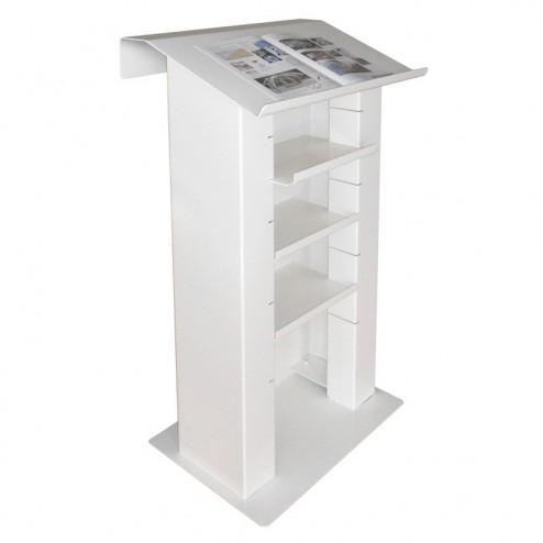 AV Cabinet Lectern - Back