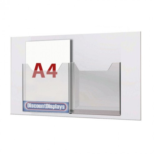 2xA4 Leaflet Dispenser on A1 Centre
