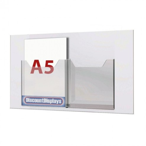 2xA5 Leaflet Dispenser on A2 Centre
