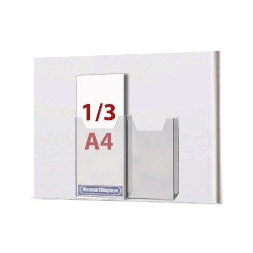 2x1/3 A4 Leaflet Dispenser on A3 Centre
