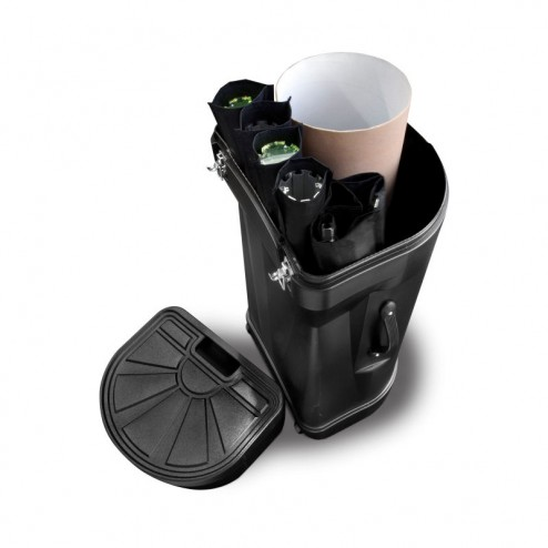 Free wheeled carry case