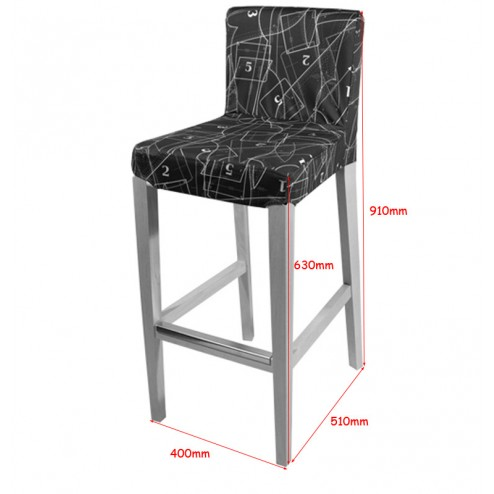 Wooden Bar Stool Dimensions