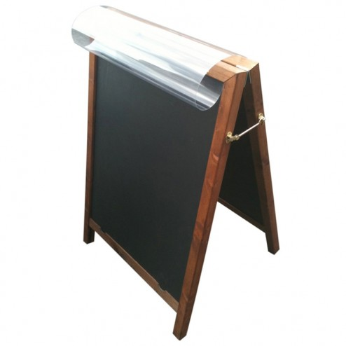 Chalkboard poster holder