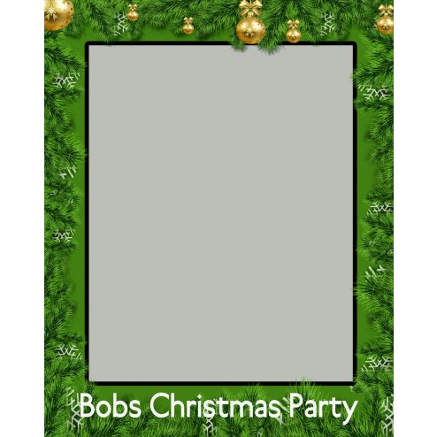 Christmas Party Selfie Frames