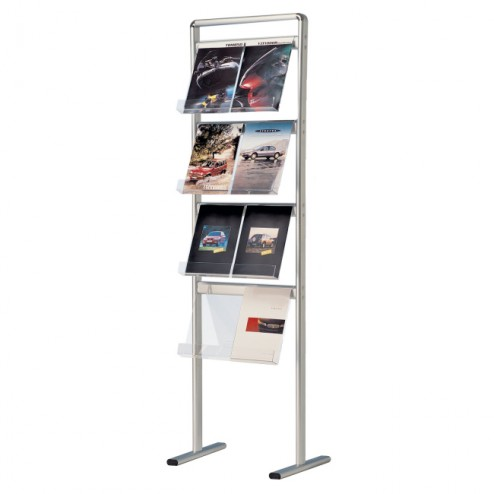 Literature and Brochure Holder Display