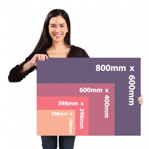 Correx sign bundles available in 4 sizes