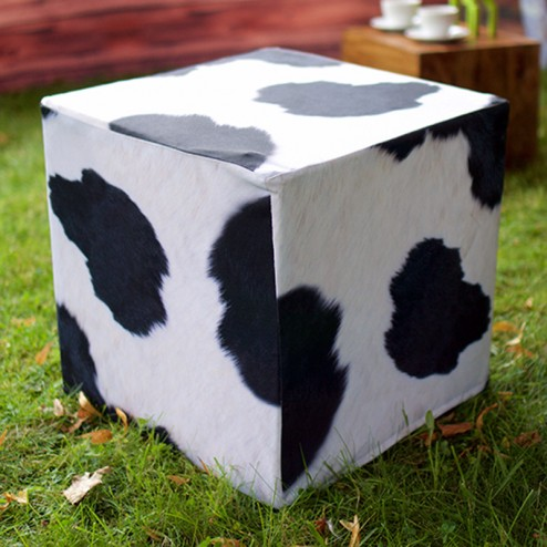 Cow Custom Printed Cube
