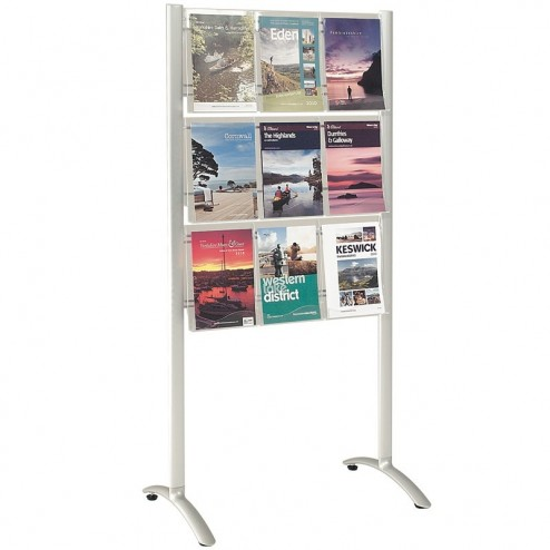 Free Standing Literature Display