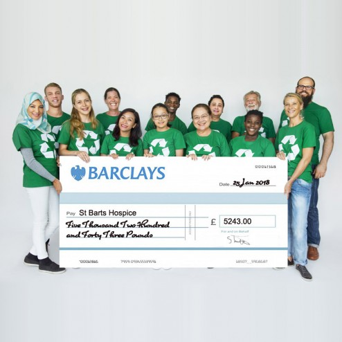Custom Printed Giant Bank Cheque
