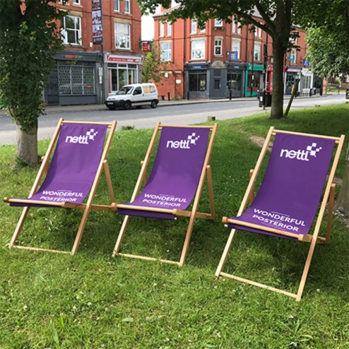 Deckchairs great for outdoor events