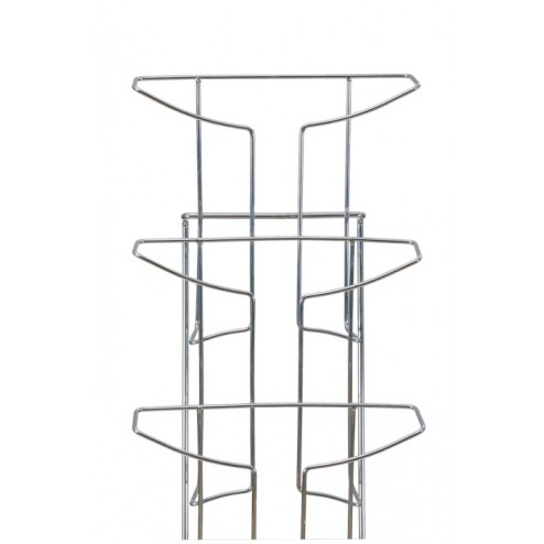 Wall Mounted Wire Literature Rack 21 Pocket A4