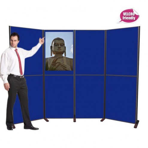 8 Panel - pole and panel display