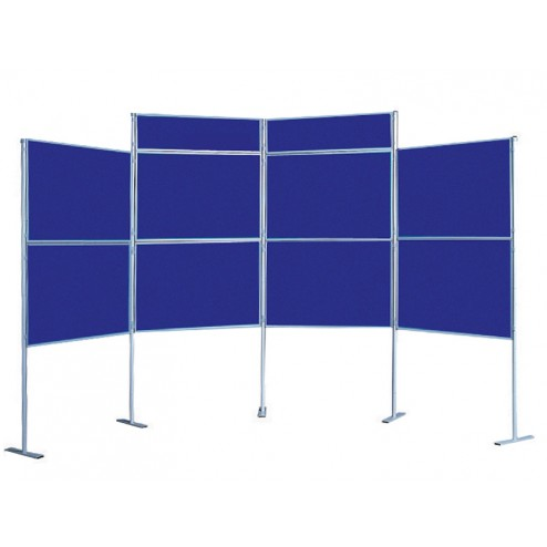 Trade Show Pole & Panel Display Stand