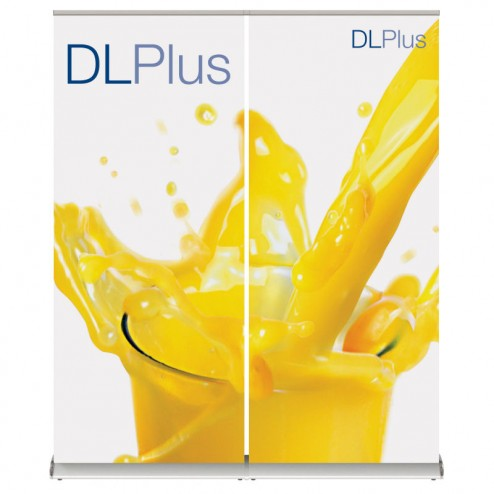 Pull Up Linked Banner Stand Wall - 2 Linked Units