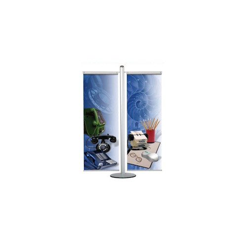 Dual Banner Display Stand