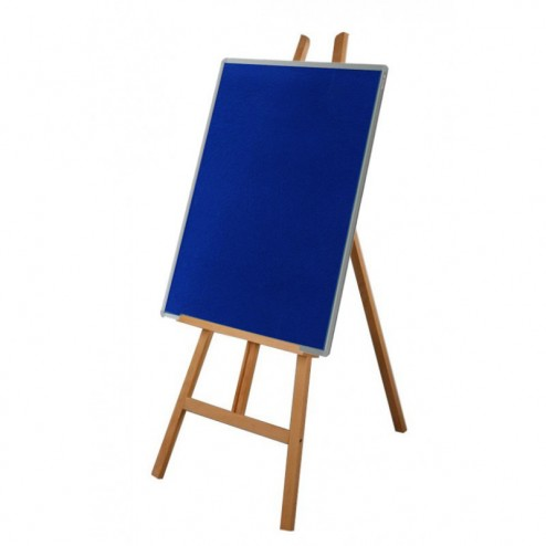 School display easel with notice board