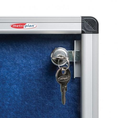 Locking Mechanism Prevents Unwarranted Tampering