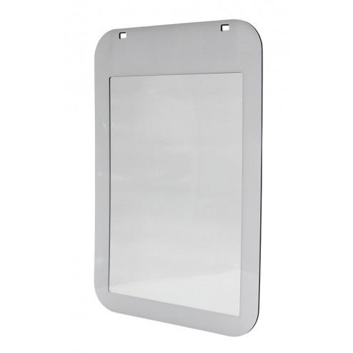 White poster pocket for Eco Swinger 2
