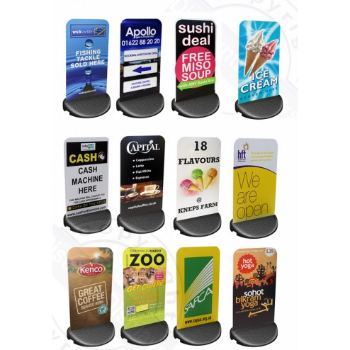 Examples of ecoflex signs we have printed
