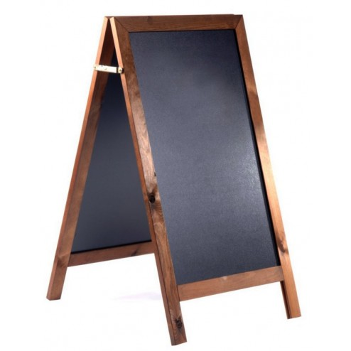 Economy A board with exterior grade chalkboard