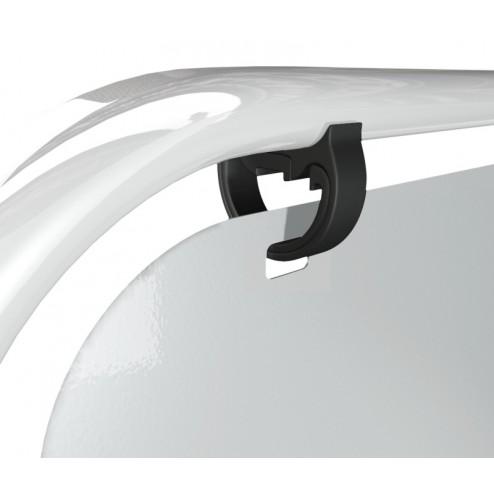 White Pavement Swinger Sign
