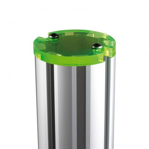 Green post cap colour