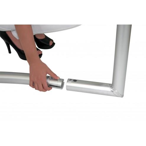 Tubular aluminium frame