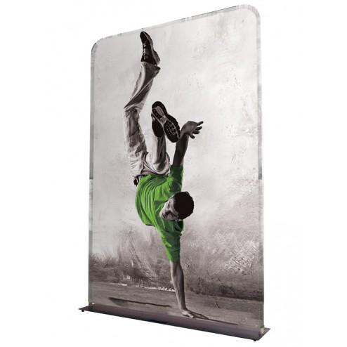 Formulate fabric backwall