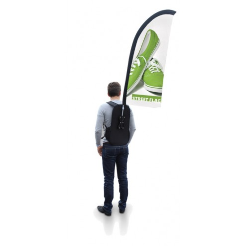 Feather Backpack Flag
