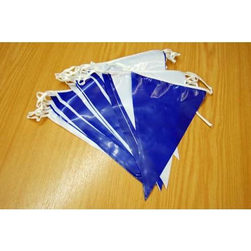 10m Length Blue/White