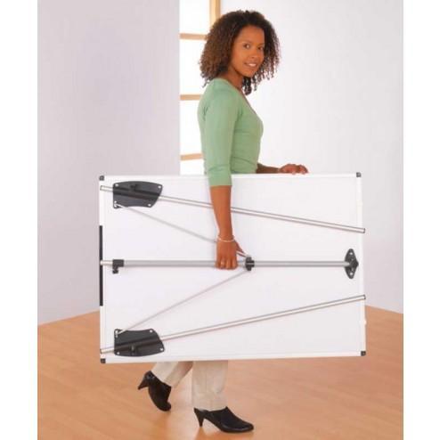 Easel fold flat