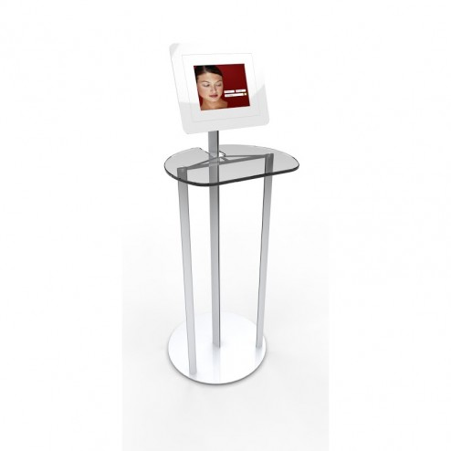 Freestanding iPad Kiosk Table