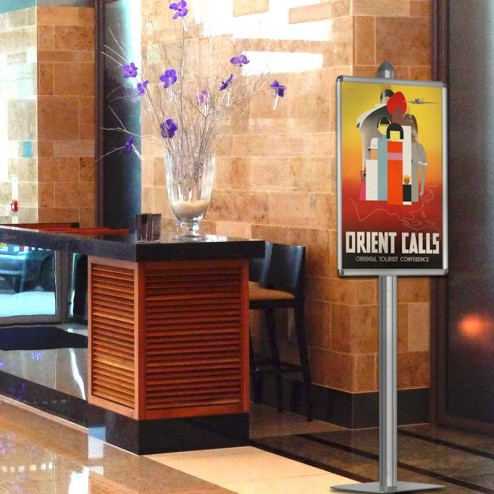 Great for use in hotel lobbies and retail areas