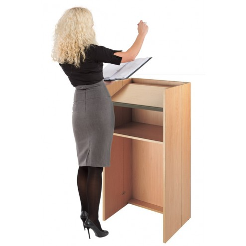 Sloping Lectern Top