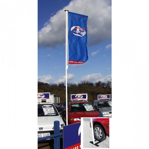Designed for garage forecourts, and outdoor events